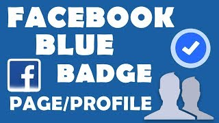 How to Verify Facebook Blue Badge Page/Profile (2019)