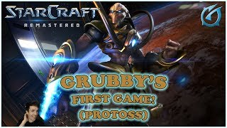 Grubby | Starcraft Remastered - First Game as Protoss - The Lost Temple