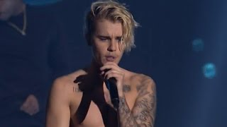 "Justin Bieber Raps Eminem's ""Lose Yourself"" During Surprise London Show"