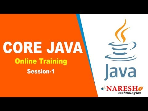 Core Java Online Training Session 1   Core Java Online Training