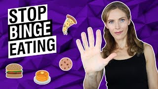 HOW TO STOP BINGE EATING And Lose Weight For Good