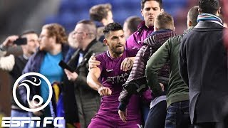 Sergio Aguero involved in incident with Wigan fan after Manchester City's FA Cup match | ESPN FC | Kholo.pk