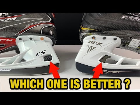 CCM XS Holder vs Bauer LS Edge - Which Quick Release hockey skate blade holder is better ?