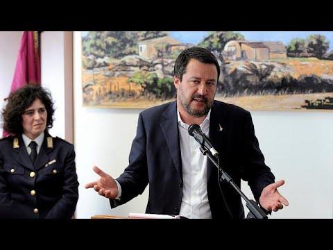 Μήνυση ΜΚΟ κατά Σαλβίνι
