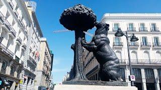 368.Мадрид:улицы,магазины и все,на что упал взгляд :)