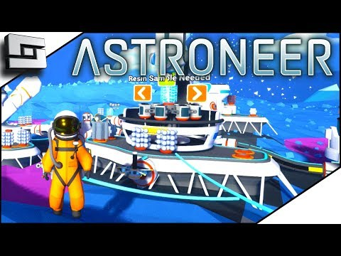 MINERAL EXTRACTOR IS AMAZING! - Astroneer Gameplay S2E2