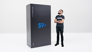 Samsung Galaxy S9 Plus UNBOXING