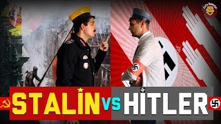 Joseph Stalin vs Adolf Hitler (Nazi vs Komünist) - Rap Savaşları (Eng. Sub)