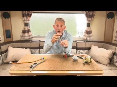 Practical Caravan on gas safety for caravans