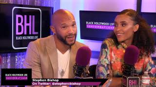 Stephen Bishop & Annie Ilonzeh Interview | BHL Conversations