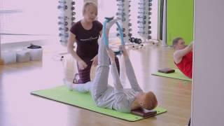 Групповые занятия по пилатес. Polestar Pilates