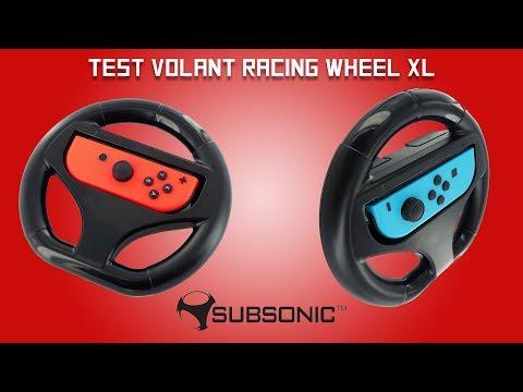 Test du Volant XL de Subsonic