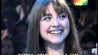 """Charlotte Church & Agnaldo Rayol """" Tormento  d'amore """" no Faustão - 2000"""