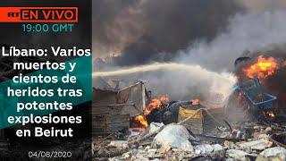 TRAGEDIA EN BEIRUT Y FUGA DEL REY DE ESPAÑA