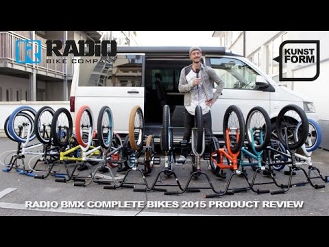 Radio bikes 2015 BMX bikes review | with english subtitles