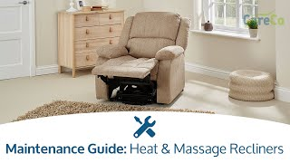 Heat and Massage Assembly Guide