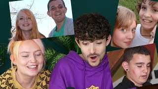 Reacting To Embarrassing Childhood Photos