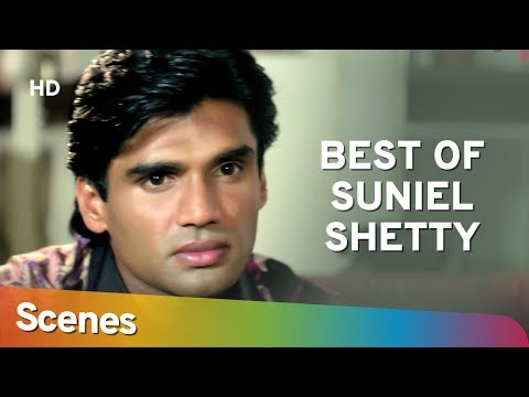Best Suniel Shetty scenes from Takkar (1995) Sonali Bendre | Naseeruddin Shah - 90's Action Movie