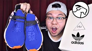 Pharrell X NMD Human Race Inspiration Pack Unboxing From Goat!