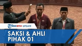 Sidang MK Lanjutan, Pihak Jokowi-Ma'ruf Hadirkan Saksi dan Ahli