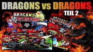 Dragons vs Dragons !!! Gummi Drachen gegen Echsen - Teil 2 !!! Neu !!! Unboxing & Review