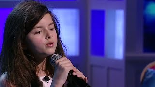 Angelina Jordan - Fly Me To The Moon - The View 2014