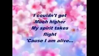 Celine Dion   I'm Alive Full Lyrics
