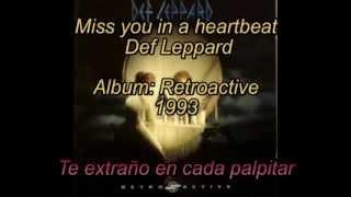 i miss you a heartbreak - Def Leppard
