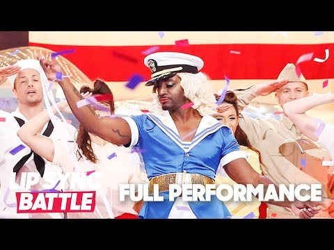 "Taye Diggs Slays ""Candyman"" by Christina Aguilera 