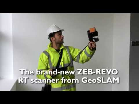 GeoSLAM ZEB-REVO RT Solution