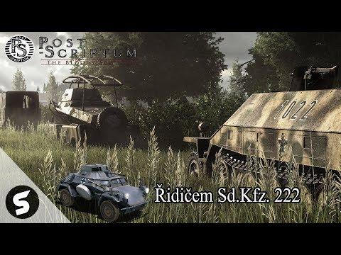 Post Scriptum - Řidičem Sd.Kfz 222 pod velením BurningSpeara