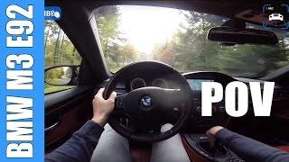 POV BMW M3 E92 Manual | FAST! Onboard Acceleration LOUD REDLINE! Exhaust Sound