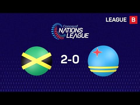 Ямайка - Аруба 2:0. Видеообзор матча 13.10.2019. Видео голов и опасных моментов игры