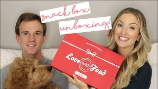 HEALTHY SNACK UNBOXING | Love With Food!