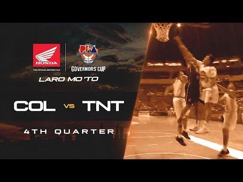 Columbian Dyip vs. TNT – Q4 | PBA Governors' Cup 2018