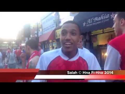Arsenal  Fans Celebration Arsenal vs Hull City 3 2