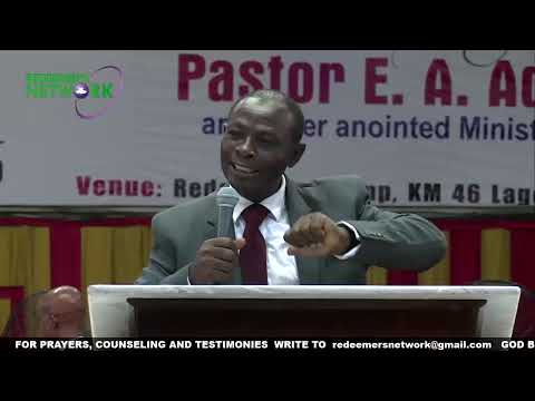 RCCG HOLY GHOST CONGRESS 2019 DAY 1/THE GREAT TURN AROUND WITH PASTOR E. A. ADEBOYE