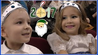 Новогодняя елка Милана 5 лет Танцует Россия Уфа Christmas tree girl Dancing 5 years Milan Russia