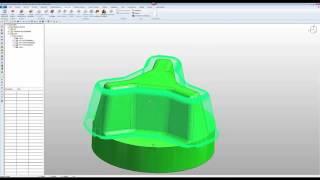 Z-konstant Schlichten 3D-Fräsen mit vectorcam