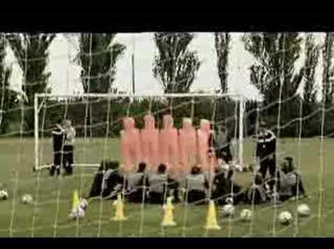 Italian Soccer/Football Training Camp before World Cup 2006