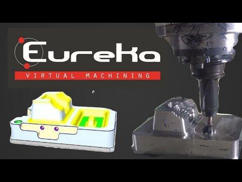 GROB G550 - Eureka Virtual Machining 8.5