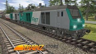 Trainz - JR - CR SD40-2 rar Generator - On Feet Nation