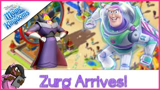 Captain Zurg Arrives in Disney's Magical Kingdoms Game