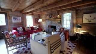 Interior Design — Cosy & Rustic Wood Ski Cabin In Collingwood