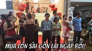 Mưa lớn nhất đầu mùa Sài Gòn ngập nặng không biết ở Mỹ mưa lớn đường có ngập không?
