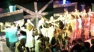 preview picture of video 'Incekum Avsallar mini disco Antik hotel 2011'