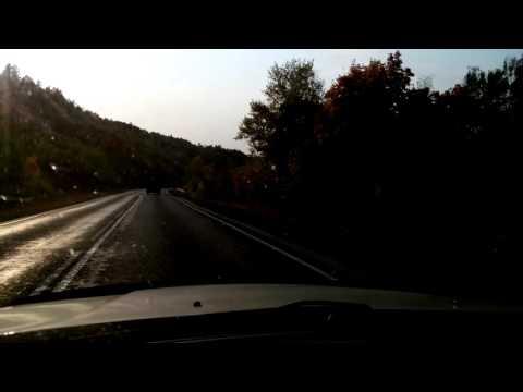Дороги Южного Урала.Спуск с Зилаирского