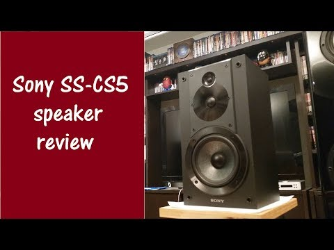 Stereo – Sony SS-CS5 speaker review / Cheapest audiophile speaker vs polk audio RtiA9
