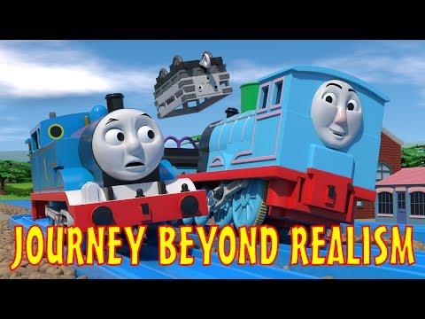 TOMICA Thomas & Friends Short 47: Journey Beyond Realism (Journey Beyond Sodor Trailer Parody)