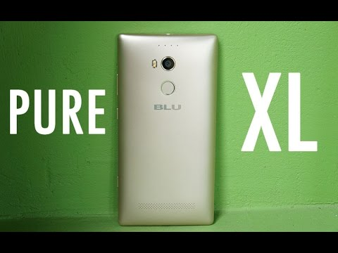 BLU Pure XL Review: A lot of phone for its price